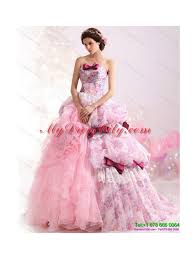 multi color wedding dress color gown ruffles colored wedding dresses with lace and bownot