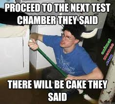 The Cake Is A Lie Meme - the cake is a lie animal memes