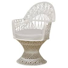 White Wicker Armchair What I U0027m Obsessing On This Week White Fiberglass Wicker