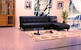 Click Clack Couch Chaise Bed Click Clack Black