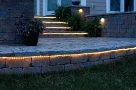 Patio String Lights Lowes Solar Landscape Rope Lighting Landscape Rope Mainstays Rope Light