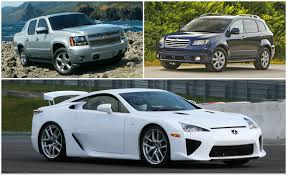 lexus vehicle list last call 11 discontinued cars you could still buy in 2014