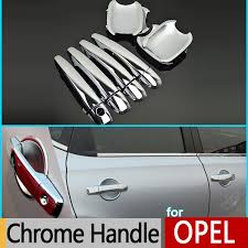 Chrome Exterior Door Handles Aliexpress Buy For Opel Vauxhall Holden Insignia Chrome