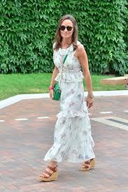pippa middleton max mara dress at wimbledon 2017 popsugar