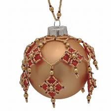 1108 best beaded tree ornament images on