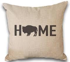 home decor buffalo ny buffalo personalized pillow personalized gift wny buffalo ny