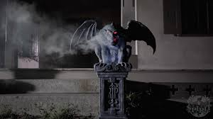 win a pair of fogging gargoyles from spirit halloween horror