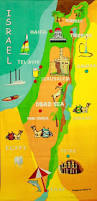Isreal Map Map Of Israel Cities And Holy Land Sites Large Bath Towel Israeli T