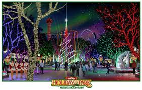 Six Flags Hurricane Harbor Hours Six Flags Magic Mountain Lights Up The Season Even Brighter This