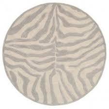 best 50 round animal print rugs foter