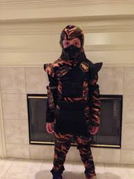 more 4 mom ready for halloween battle with special ops ninja