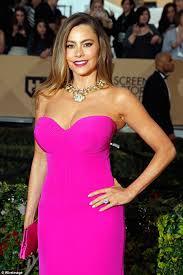 sofia vergara says she suffers in red carpet attire due to her