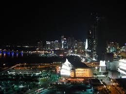 imagenes miami de noche miami downtown de noche