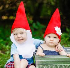 Lawn Gnome Halloween Costume Unique Halloween Costumes Siblings Daily Mom