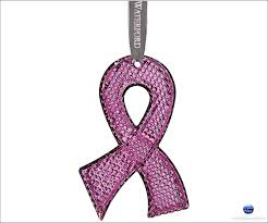 waterford 2014 breast cancer pink ornament