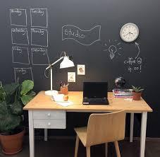 le bureau verte 1001 idées comment adopter la peinture ardoise dans nos intérieurs