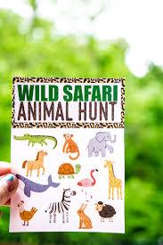 fun animal scavenger hunt ideas guaranteed to make kids smile