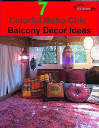 Bohemian Chic Decorating Ideas 7 Colorful Boho Chic Balcony Décor Ideas Diy Home Life