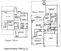 floor plans for 2 story homes