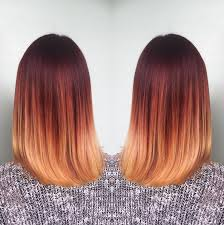 pictures of ombre hair on bob length haur 18 striking red ombre hair ideas popular haircuts