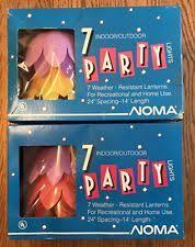 plastic noma garden string lights ebay