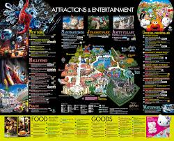Universal Orlando Park Map by Your Guide To Universal Studios Japan U2013 Backpackerlee