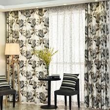Waverly Curtains And Drapes Taupe Waverly Rustic Grommet Thermal Soundproof Curtains