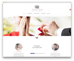 best wedding album website 30 stunning responsive wedding events marriage