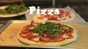 recette cuisine recette facile des pizzas maison pâte et garniture