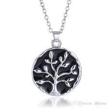 engraving necklaces wholesale fancy necklace design tree of pendant friend