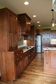 hardware for cherry cabinets kitchen rustic cherry wood w gold hardware cherry