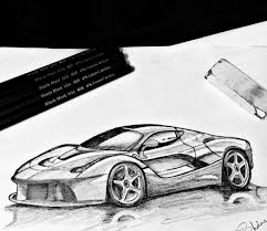ferrari sketch ferrari laferrari pratique draw to drive