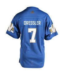 authentic blue bombers home jersey 7 weston dressler u2013 bomber store