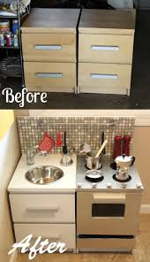 tv cabinet into play kitchen kitchen decoration