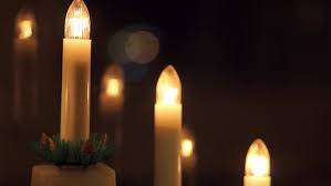 New Year Decoration For Church by Group Of Prayer Candles Burning In Old Church Hd 1080i Stock