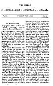 sir astley cooper u2014 biographical sketch of this celebrated