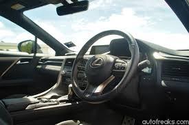 lexus rx200t engine test drive review lexus rx 200t f sport lowyat net cars