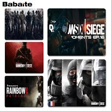 siege i size babaite rainbow six siege operators silicone pad to mouse size