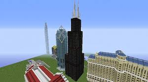 willis tower chicago sears willis tower chicago minecraft project