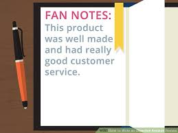 how to write an objective amazon review 12 steps with pictures