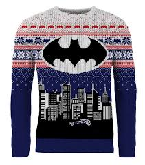 christmas jumper batman christmas in gotham knitted christmas sweater jumper