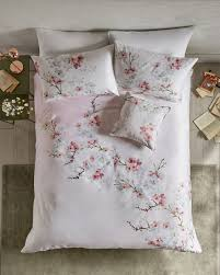 cotton gifts blossom cotton king duvet cover baby pink gifts