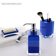 Vasque Bleue Salle De Bain by Distributeur De Savon Bleu Up Rania Bainissimo
