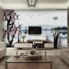 Best WallpaperWall Decals Images On Pinterest Home - Wallpaper living room ideas for decorating