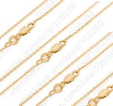necklace chains wholesale images Jexxi bulk 10pcs 30 inch solid yellow gold filled jewelry rolo jpg