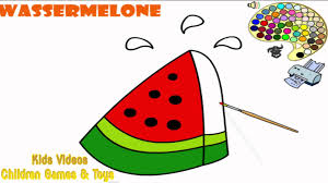 watermelon coloring pages for kids watermelon coloring pages hd