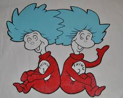 Dr Seuss Home Decor by Thing One And Thing Two Clip Art Dr Seuss Thing 1 Thing 2