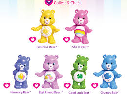 series 1 collector u0027s checklist care bears activity ag kidzone