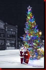 adirondack christmas on main street old forge u0026 inlet new york
