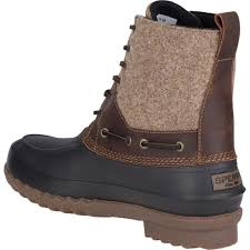 sperry men u0027s decoy wool duck boot tide and peak outfitters